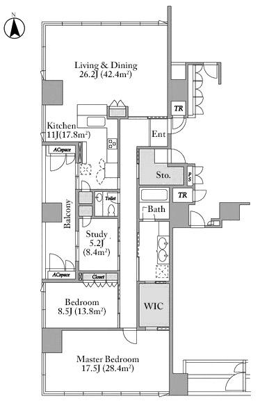 the-residence-mita-10f-floorplan