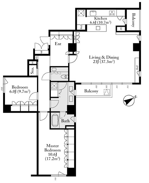 grand-hills-ichibancho-8f-floorplan