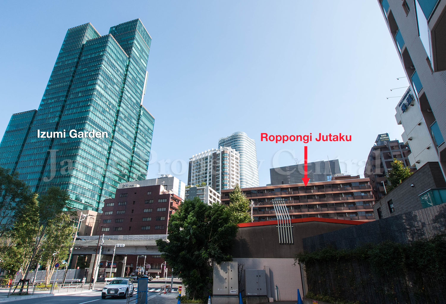 Roppongi development site up for public tender