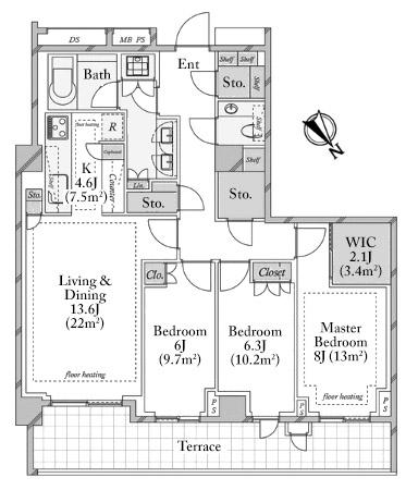 the-parkhouse-gran-minami-aoyama-101-floorplan