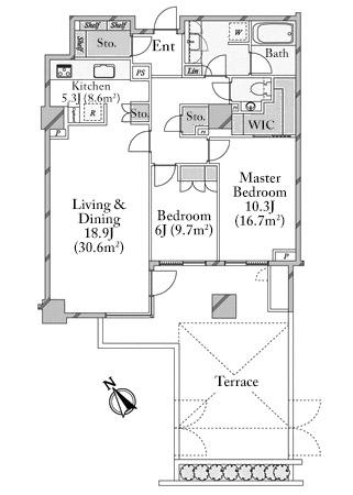 the-parkhouse-gran-minami-aoyama-112-floorplan