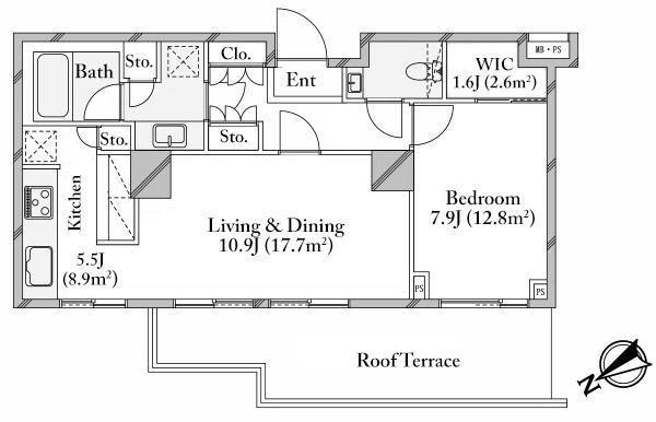 the-parkhouse-gran-minami-aoyama-410-floorplan
