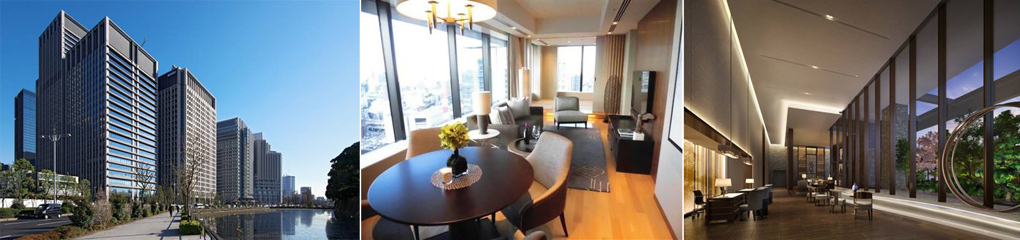 Otemachi's first serviced apartments to open this month