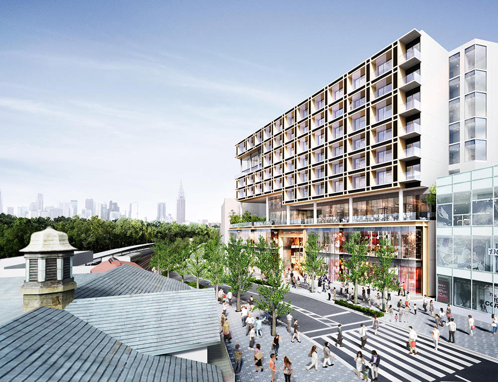 Harajuku Station Front Project to include retail and residential