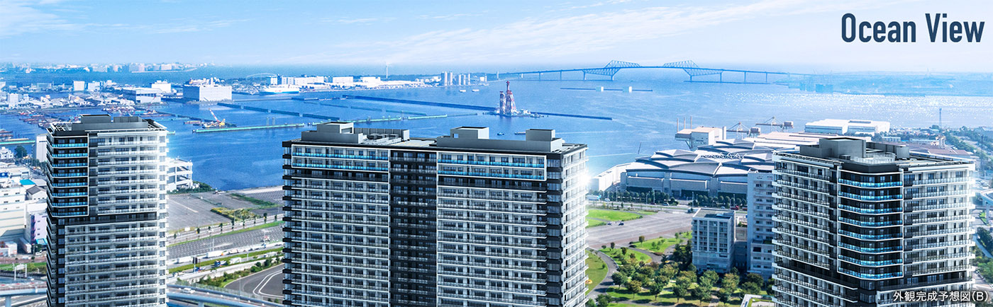 Sales in the Tokyo Bay Triple Tower Project to start in April
