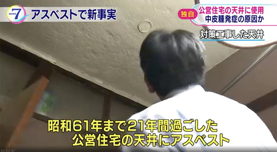 Over 22,000 public housing units across Japan contained asbestos