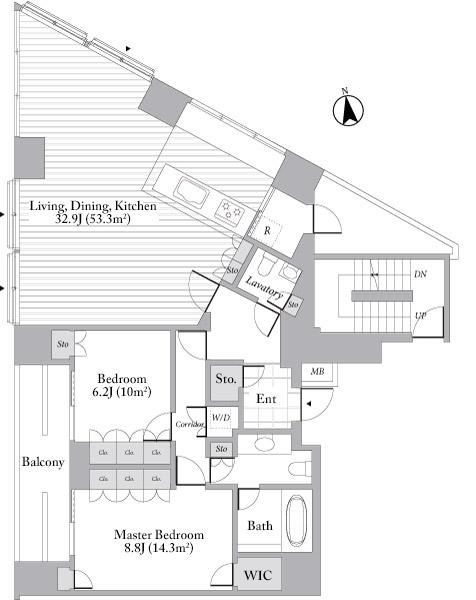 Grande Maison Nishiazabu 16F