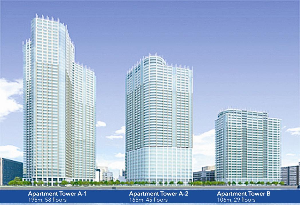 Construction starts on 3,000-unit project in Kachidoki