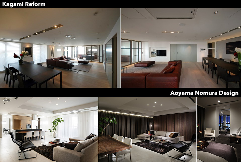 Two Apartment Renovations In Roppongi Hills Residence