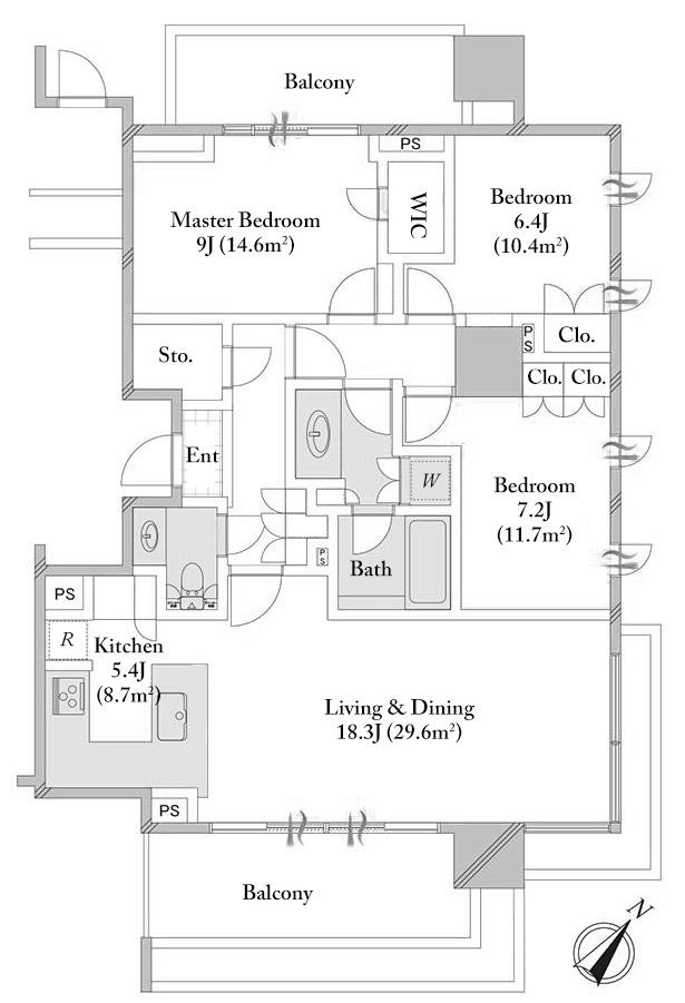The Parkhouse Gran Chidorigafuchi 8F