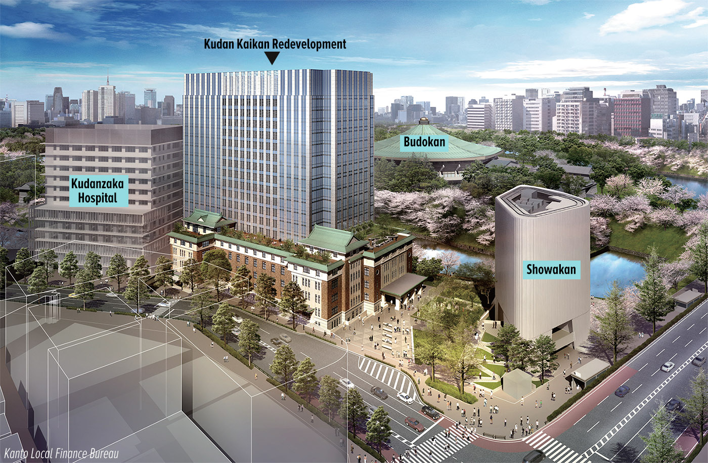 Historic Kudan Kaikan redevelopment plans announced