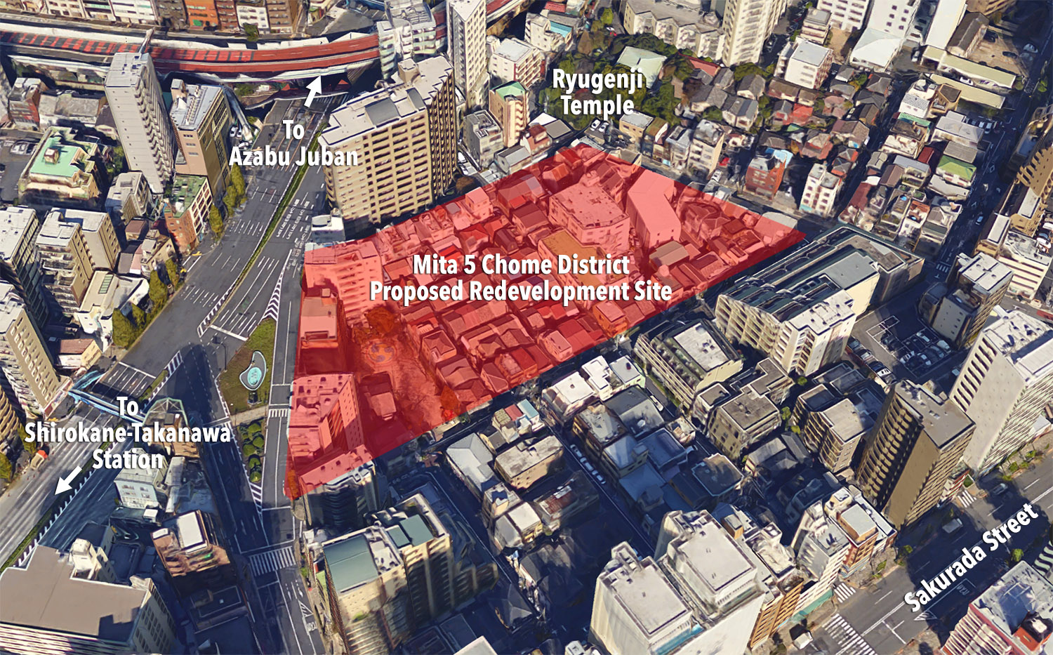 Tokyo's Mita 5 Chome district to see potential residential redevelopment
