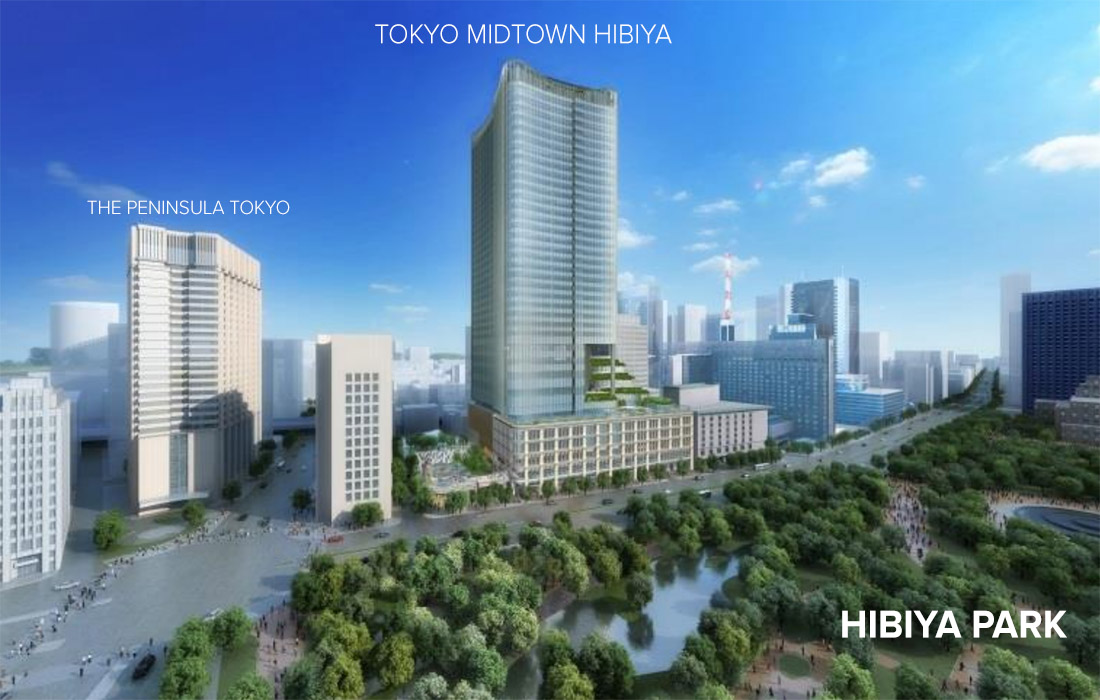 Tokyo Midtown Hibiya to open in March 2018