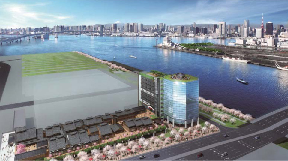 Onsen and retail complex near new Toyosu Fish Market in jeopardy