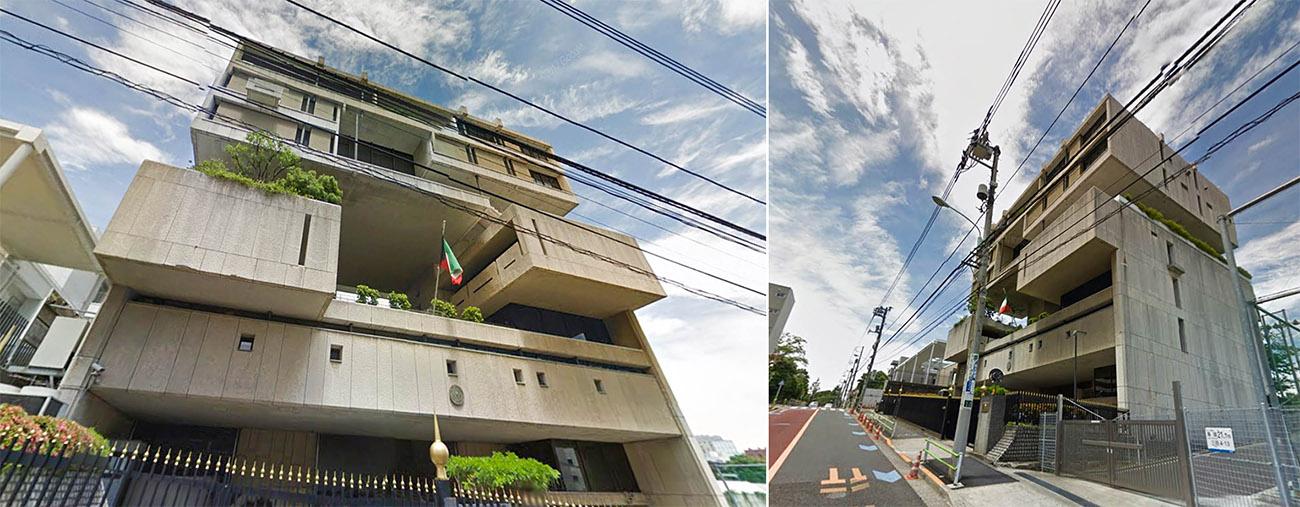 Kuwait Embassy to be rebuilt