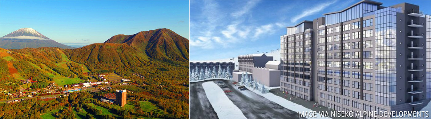 700 million USD condominium, hotel and retail project for Hokkaido's Rusutsu Resort