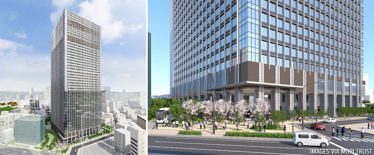 Akasaka Twin Tower Redevelopment to be completed by 2024