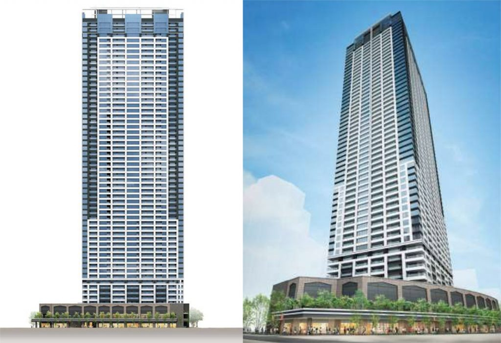 A High Rise Apartment Tower Under Construction In Osaka S Umeda District Is Set To Become The Region Largest End Rental Building
